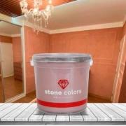 Stone Colors Cimento Queimado Perolizado Rose Gold 3,2KG