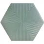 Ceral Revestimento Hexagonal Connect Green 22,8 (CX 1,02M2)