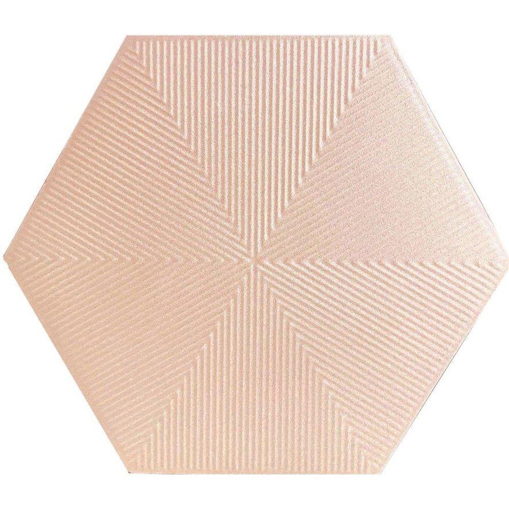 Ceral Revestimento Hexagonal Connect Soft Pink 22,8 (CX 1,02M²)