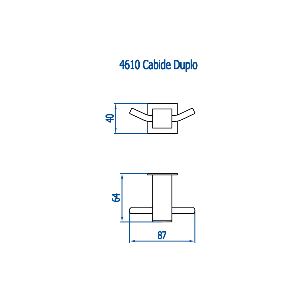 Fani Cabide Duplo 4610 C220 Bella