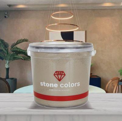 Stone Colors Cimento Queimado Perolizado Avelã 3,2KG