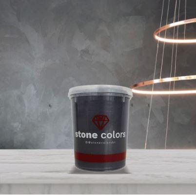 Stone Colors Cimento queimado Perolizado Minério de Onix 1,6KG