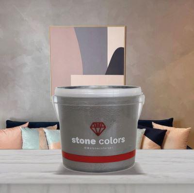 Stone Colors Cimento Queimado Perolizado Tubarão Branco 3,2KG