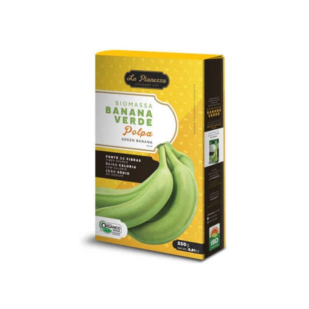 Biomassa Banana Verde 250g La Pianezza