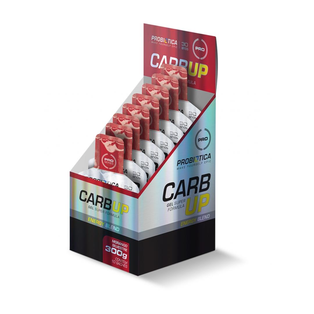 Carb Up Gel Energy Blend 10 Unidades Probiótica