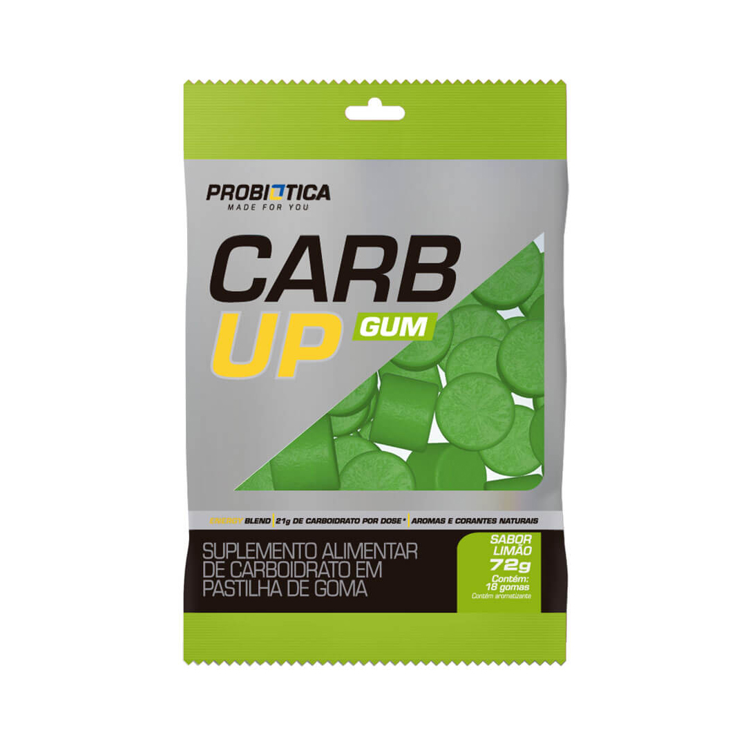 Carb Up Gum 18 Gomas Probiótica
