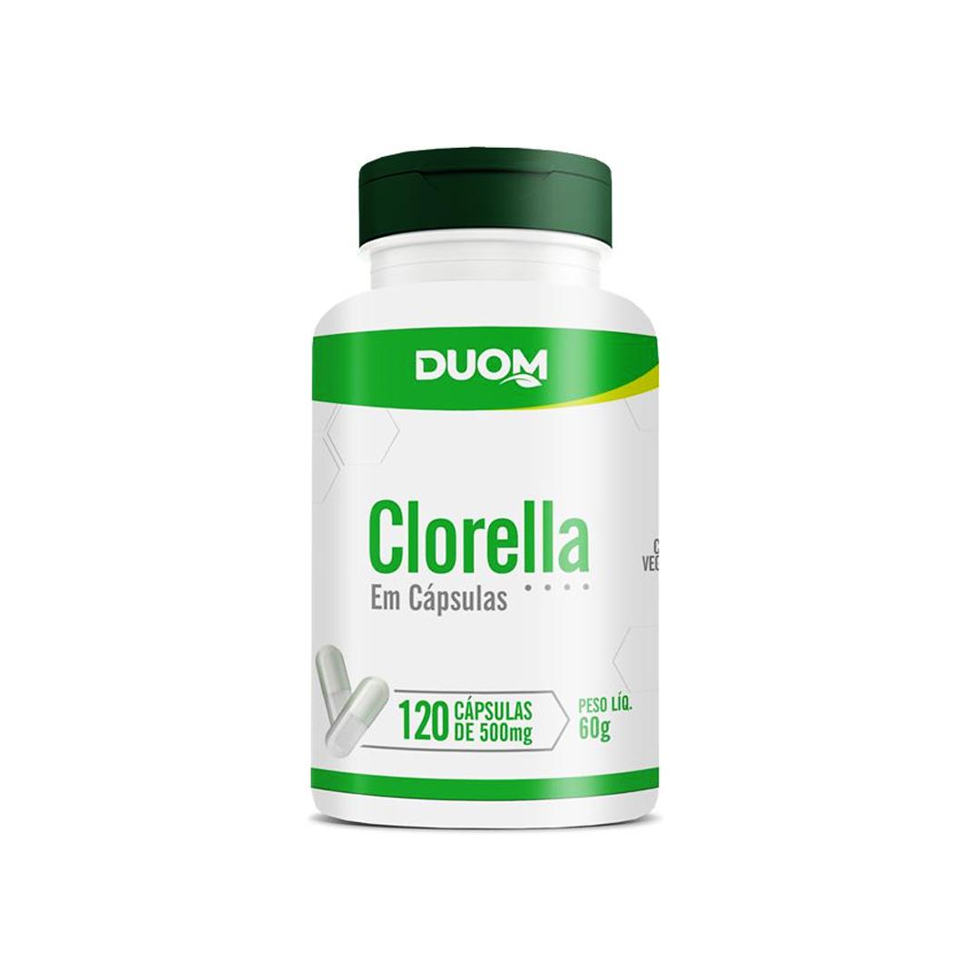 Clorella 120 Cápsulas Duom