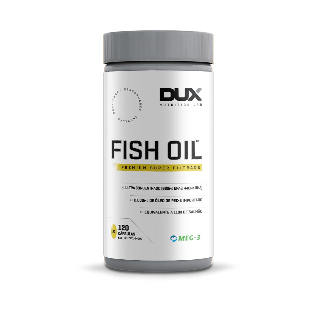 Fish Oil 120 Cápsulas Dux Nutrition