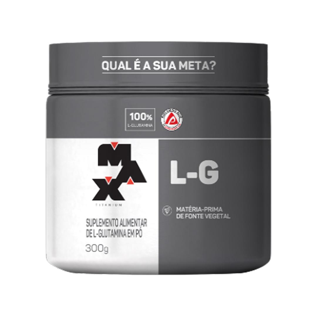 Glutamina 300g Max Titanium