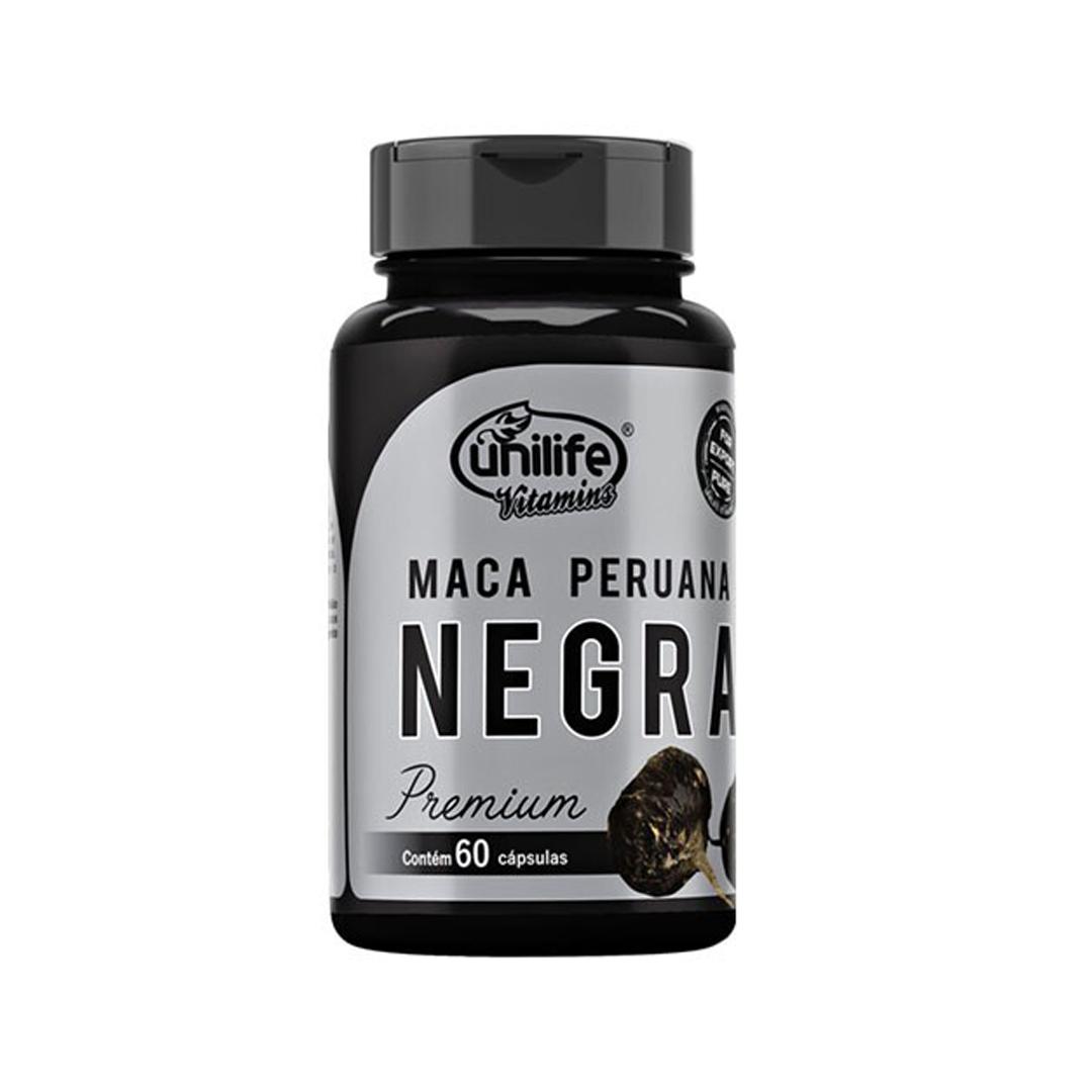 Maca Peruana Negra 60 Caps Unilife
