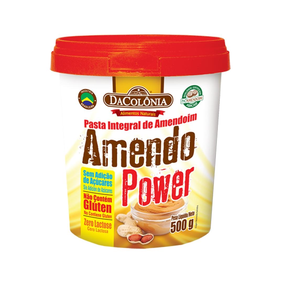 Pasta de Amendoim Amendo Power 500g
