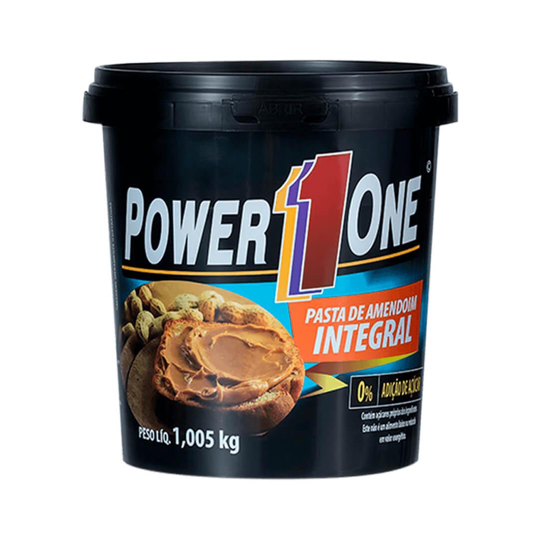 Pasta de Amendoim Integral 1,005kg Power One