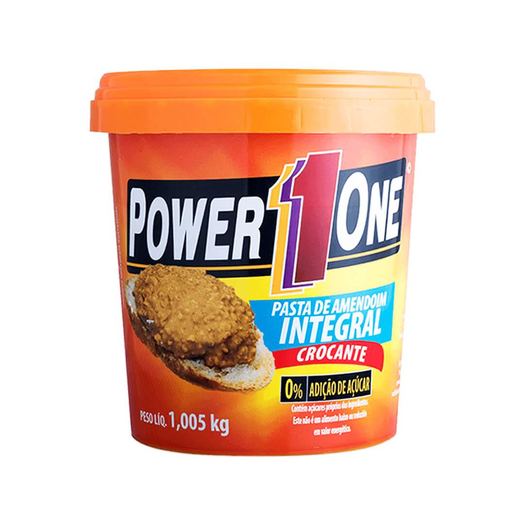 Pasta de Amendoim Integral Crocante 1,005kg Power One