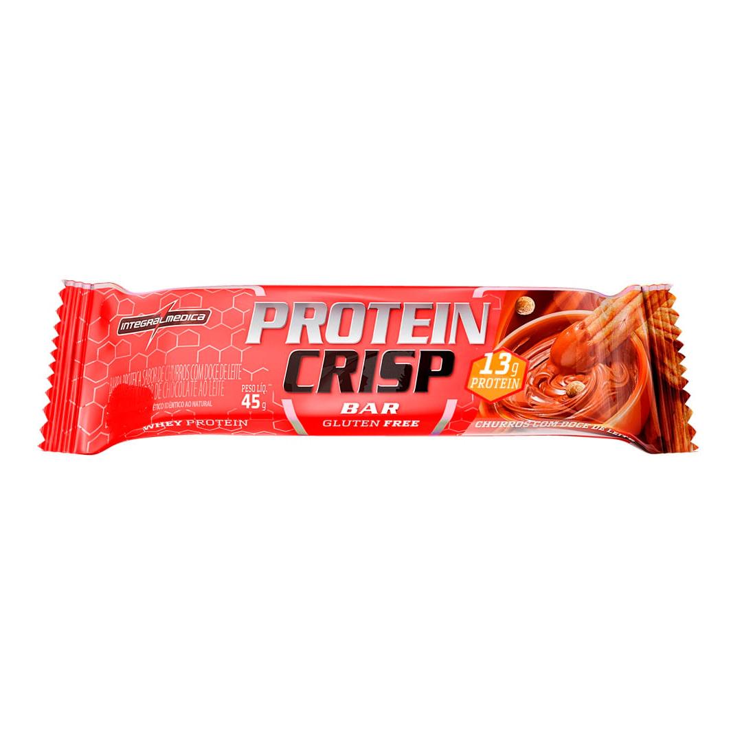 Protein Crisp Bar 45g Barra de Proteína Integralmedica