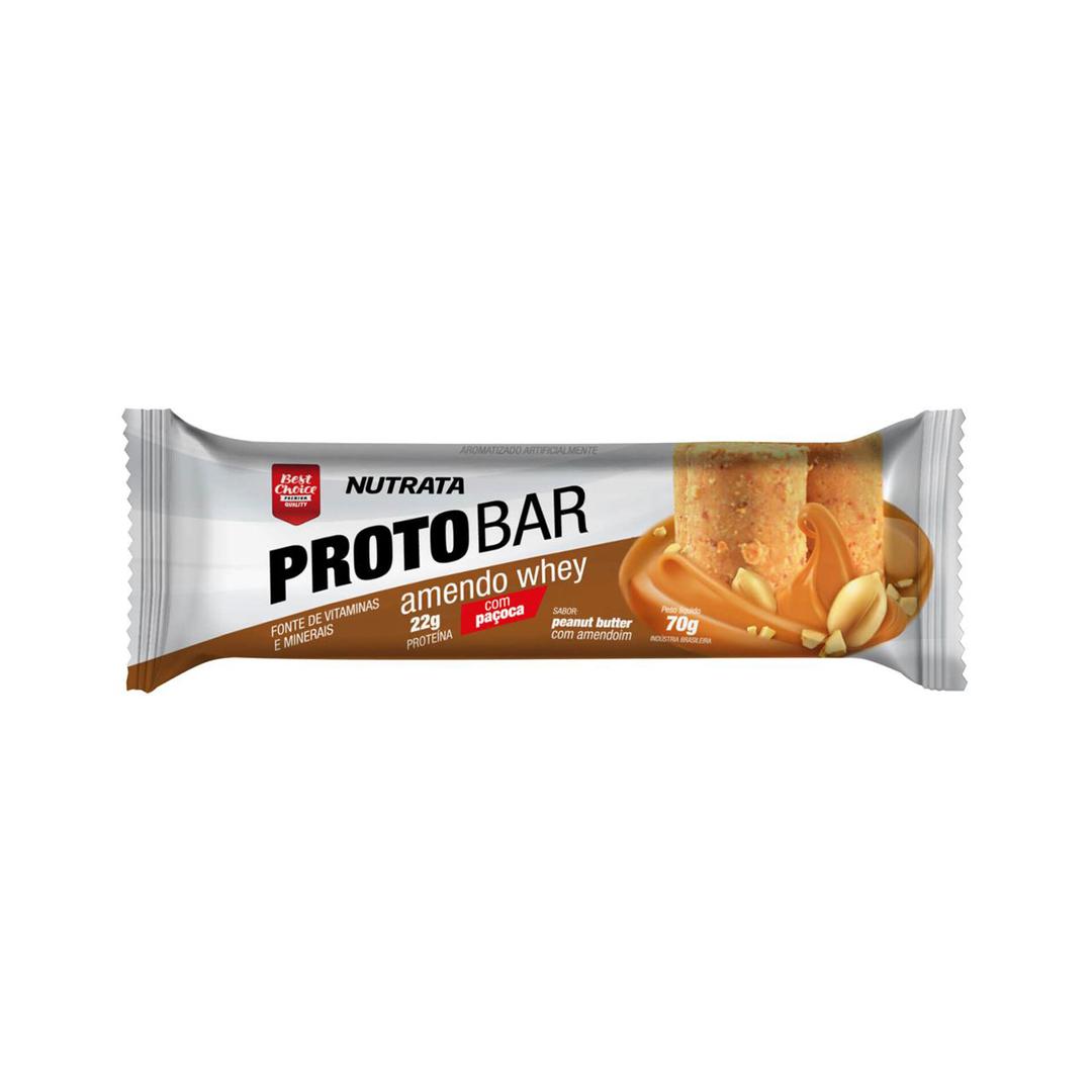 Protobar 70g Barra de Proteína Nutrata
