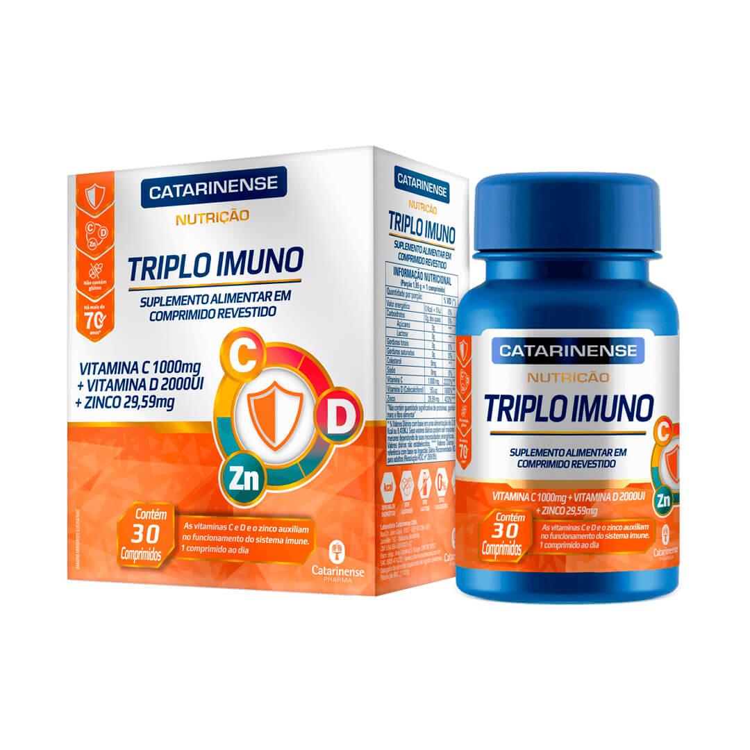 Triplo Imuno 30 Comprimidos Catarinense Pharma
