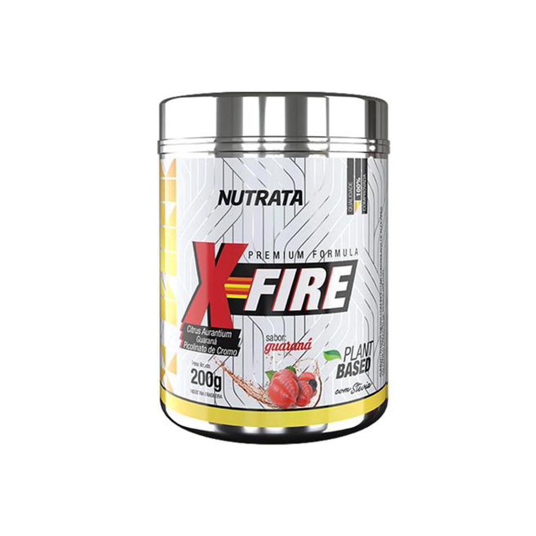 X-Fire 200g Guaraná Nutrata