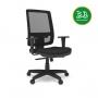 Cadeira Mix - Espaldar Alto - Preta - Frete Grátis