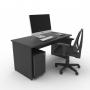Kit Home Office 02 - Preto
