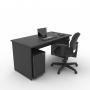 Kit Home Office 03 - Preto