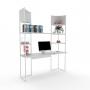Kit Home Office 04 - Branco - Frete Grátis