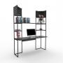 Kit Home Office 04 - Preto - Frete Grátis