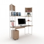Kit Home Office 04 - Branco com Itapuã - Frete Grátis