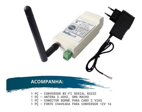 Conversor Wi-Fi Serial RS-232