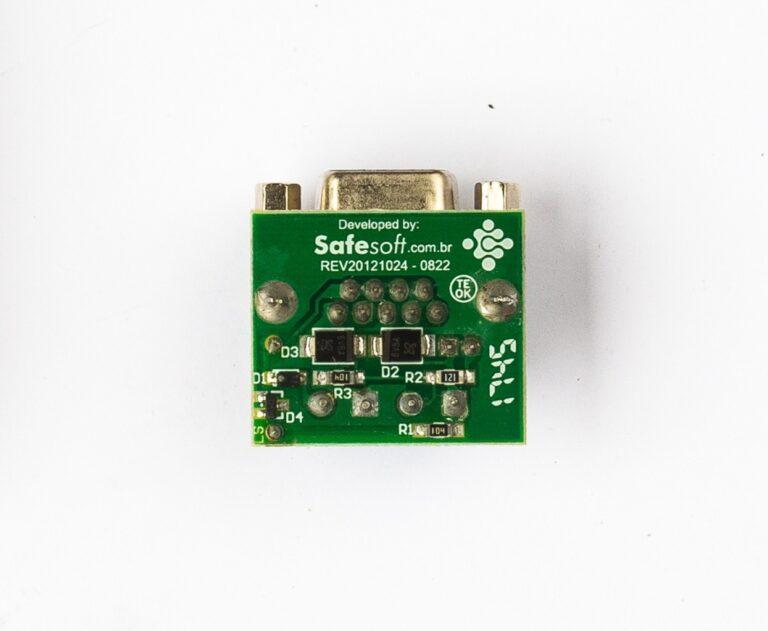 Placa Adaptadora DB9-KRE Safesoft