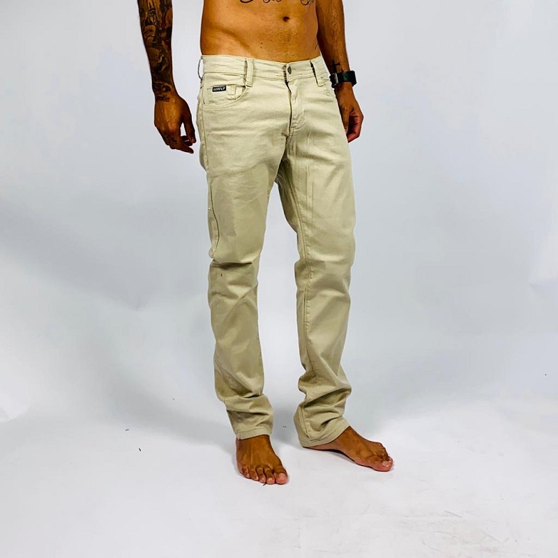 Calça Jeans Bege CJB01