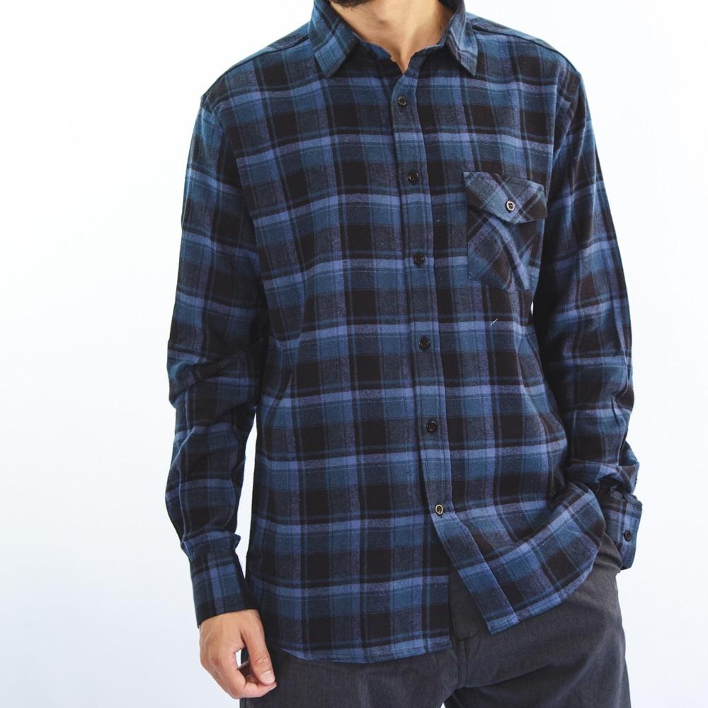 Camisa Flanela Azul Marinho 3044