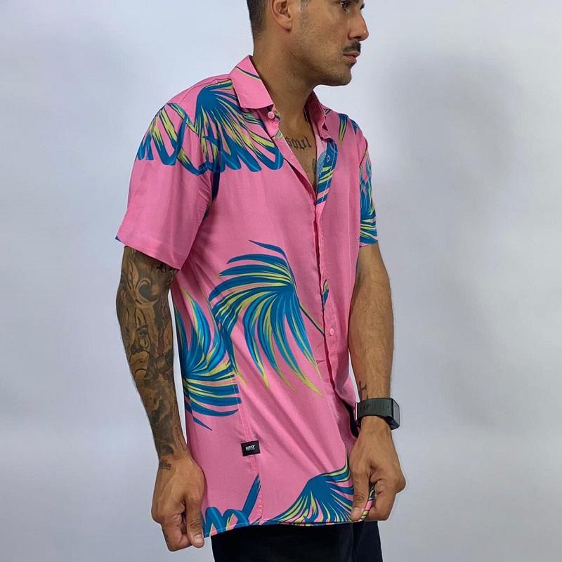 Camisa M/C ROSA FLORIDA CM3582