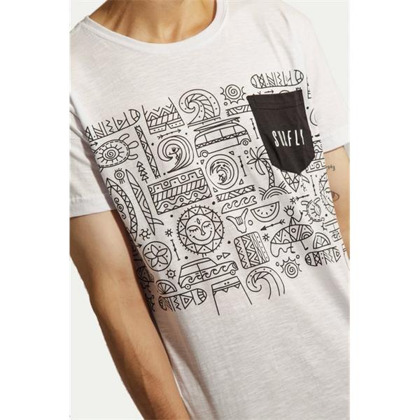 Camiseta Especial Abstract Beach / 77040