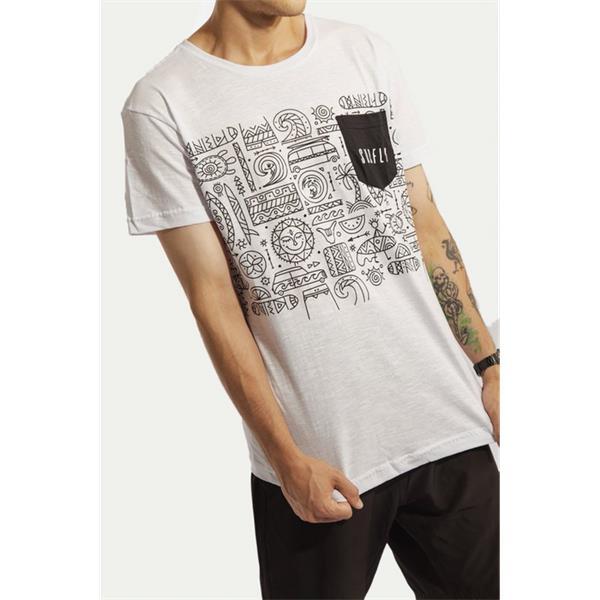 Camiseta Especial Abstract Beach / 77040