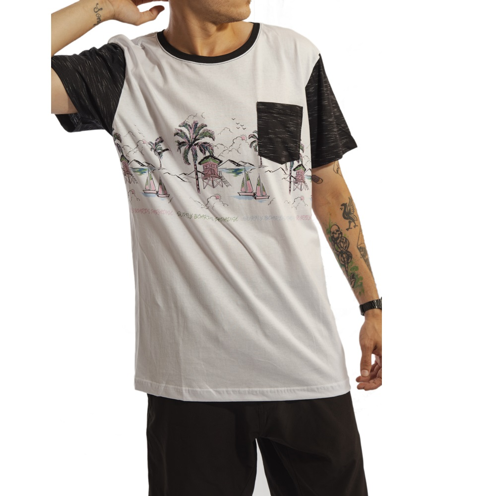Camiseta Especial Deadly Skateboard / 77031KIT