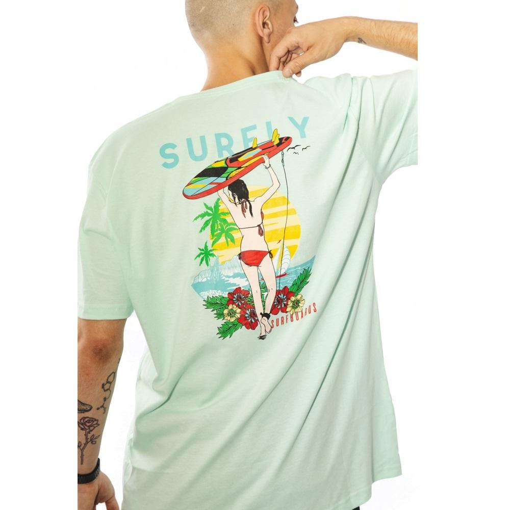 Camiseta Estampada Surf Beach 10240