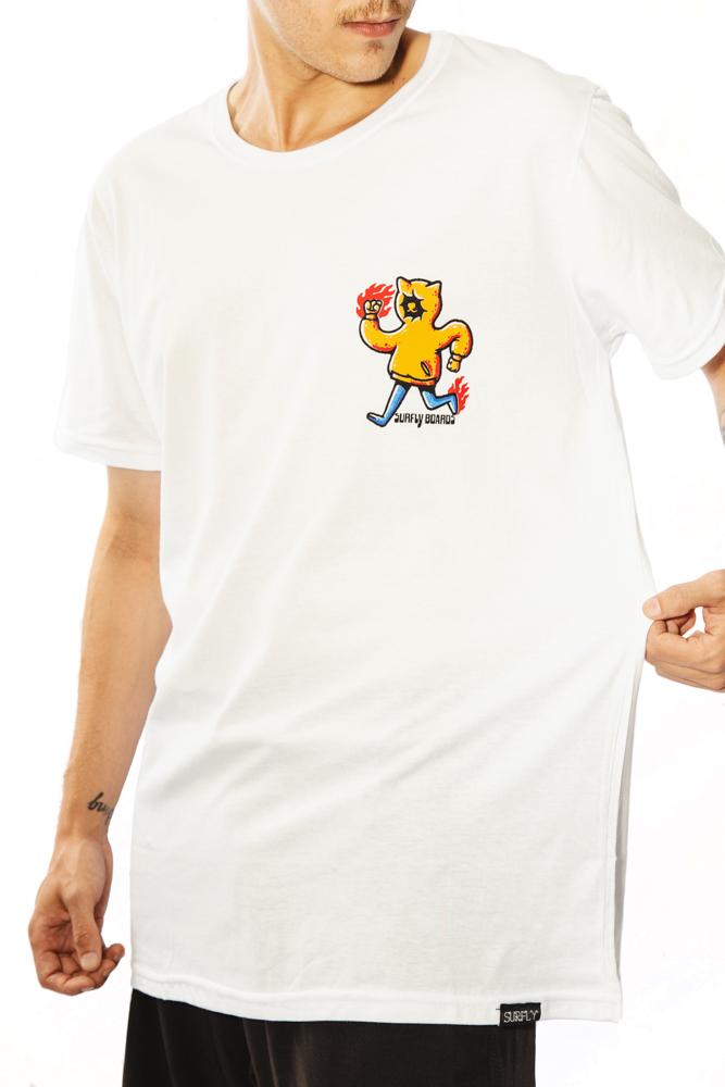 Camiseta Estampada Hoodie Crew 10242
