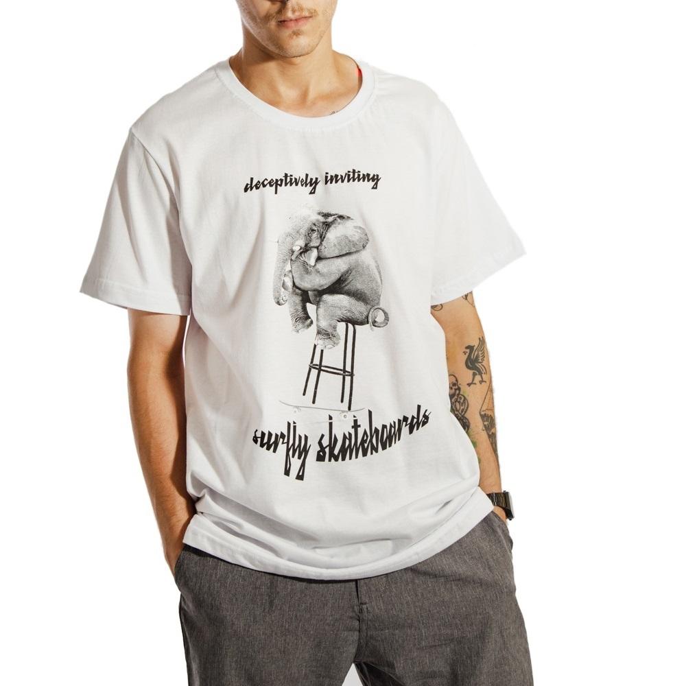 Camiseta Estampada Deceptively Inviting 10286