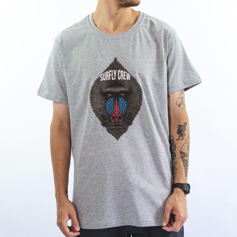 Camiseta Estampada Baboon 10335