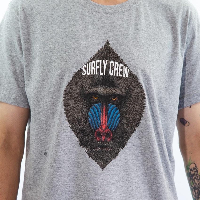 Camiseta Estampada Baboon 10335kit