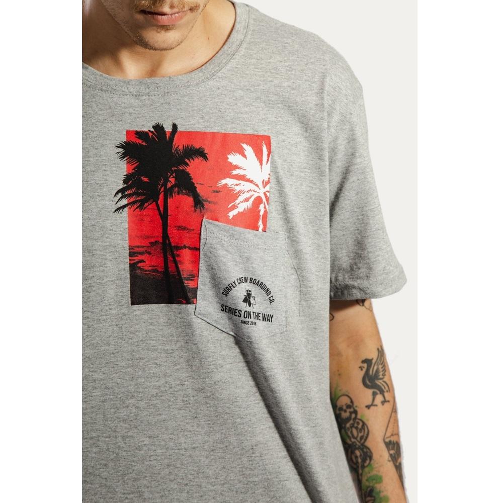 Camiseta Estampada Sunset 10268