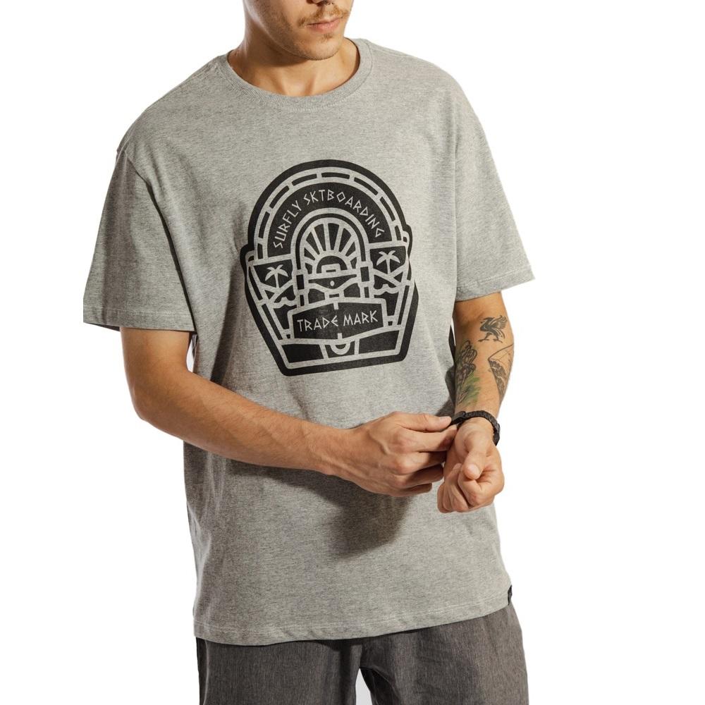 Camiseta Estampada Trade Mark 1018319