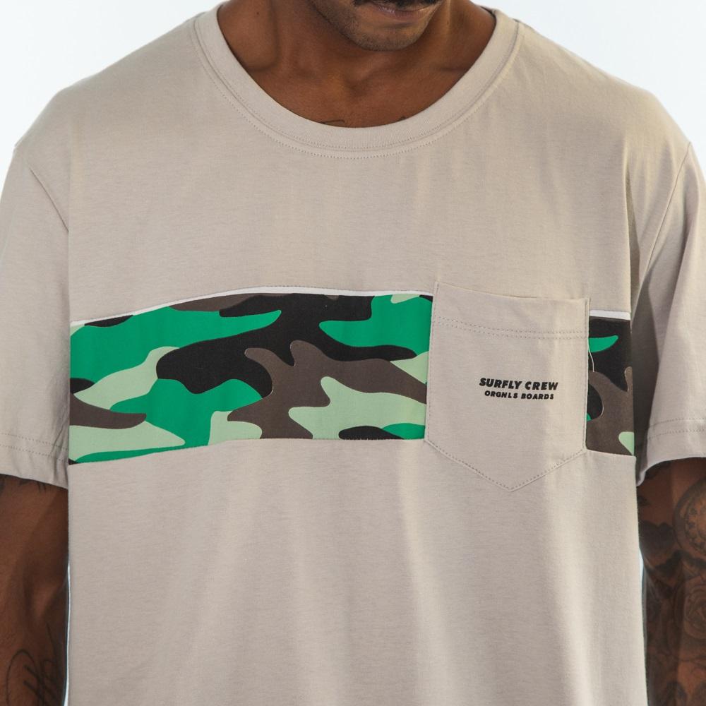 Camiseta Camo Line Sf0620