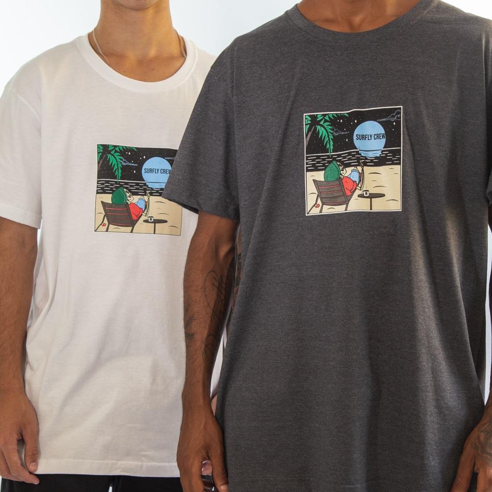 Camiseta Moon Beach Sf1420