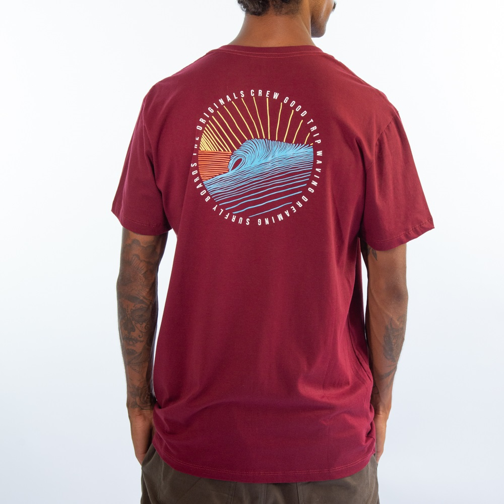 Camiseta Sunset Wave Sf1820