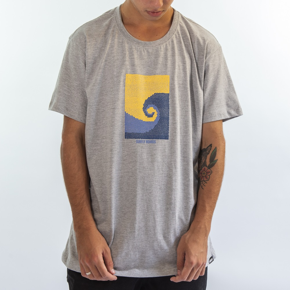 Camiseta Mosaic Wave Sf2420
