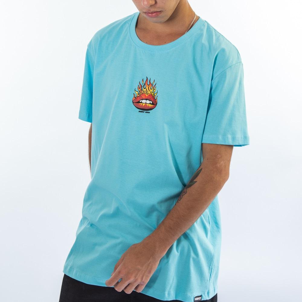 Camiseta Burning Red Sf2520
