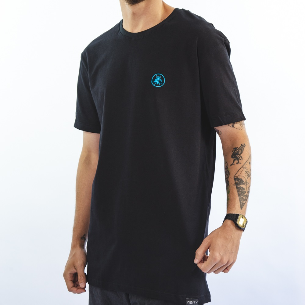Camiseta Surfly Circle Logo 256c01