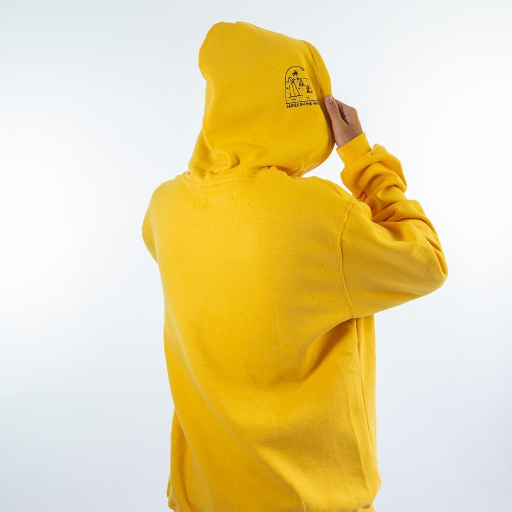 Moletom Canguru In99220 - Amarelo