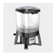 Alimentador Automático P/ Lago Sunsun Cff-206 Painel Solar